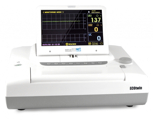 Zwillings Fetal Monitor ECOtwin LED