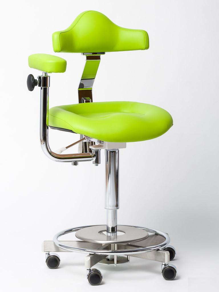 rollhocker mit lehne und op armst tze f r klinik und praxis. Black Bedroom Furniture Sets. Home Design Ideas